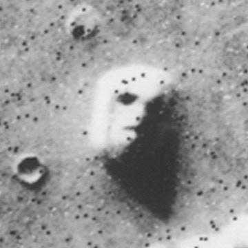 """Face"" on Mars surface"