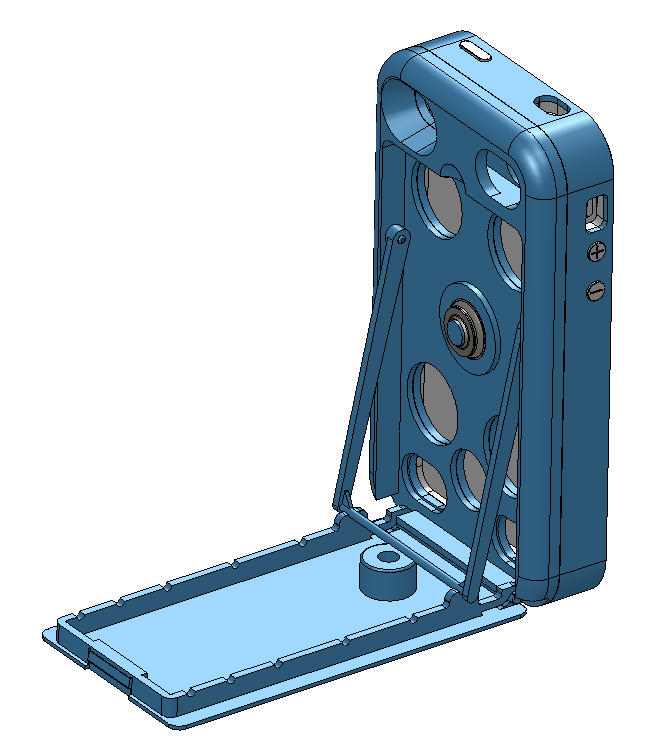 CAD QuickStand - Back with Tripod Boss