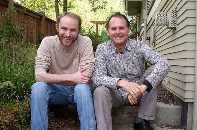 Directors Jon Betz (left), and Taggart Siegel (right).