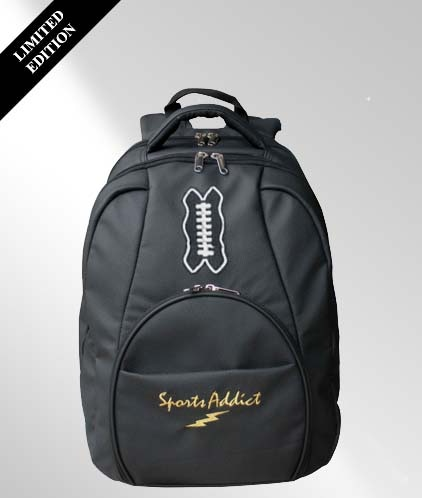 For a donation of $100, you will receive the very popular SportsAddict Backpack, which is a laptop carrier.