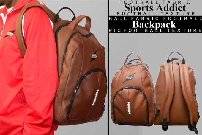 For a donation of $100, you will receive the very popular Sports Addict Backpack, which is a laptop carrier. Available for a limited time in Black. Brown backpacks in full stock.