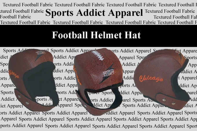 """A $75 donation will land you our signature product: the Football Helmet hat (currently available with """"Chicago"""" embroidery or our """"Classic"""" style with no embroidery)."""