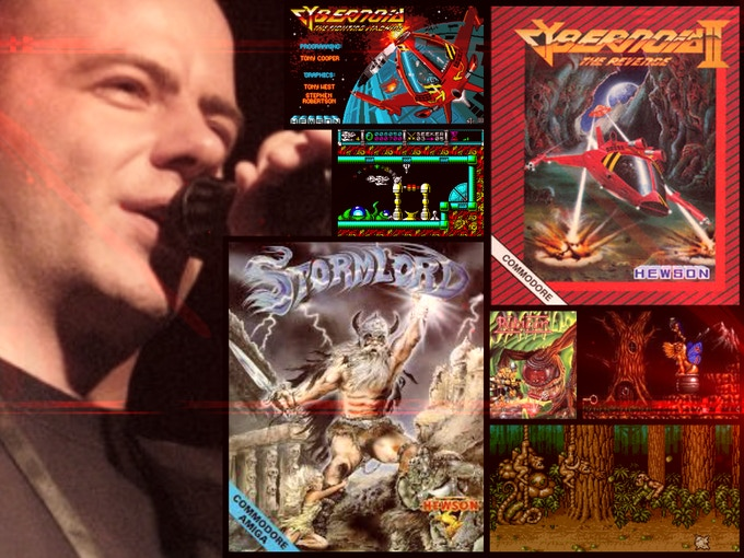 Jeroen Tel is legendary for creating classic game music, including his iconic Cybernoid 2 theme