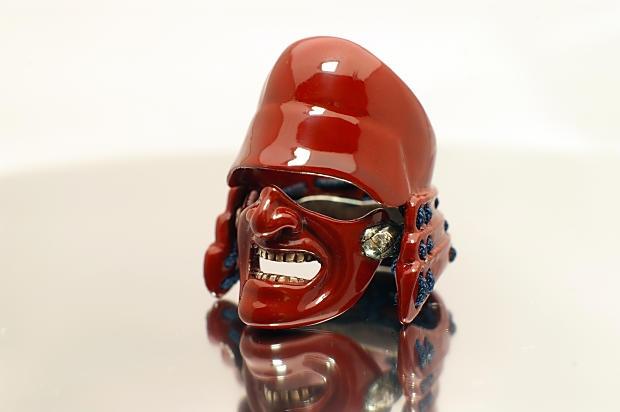 The Samurai Ring -  Red