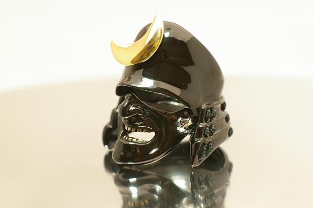 The Samurai Ring - Black (Crest Edition)