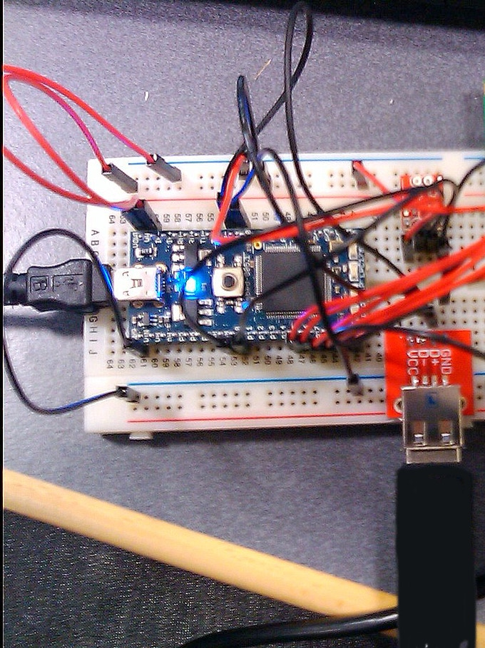 EkZee Circuit on a Breadboard, The Very First EkZee
