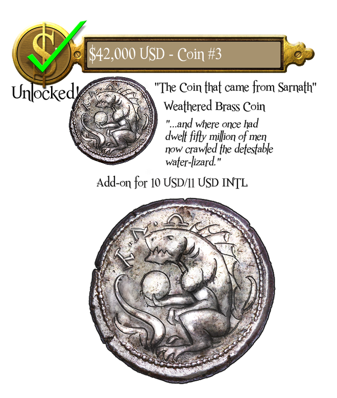 42k - Coin #3 - The Coin that came from Sarnath - Unlocked