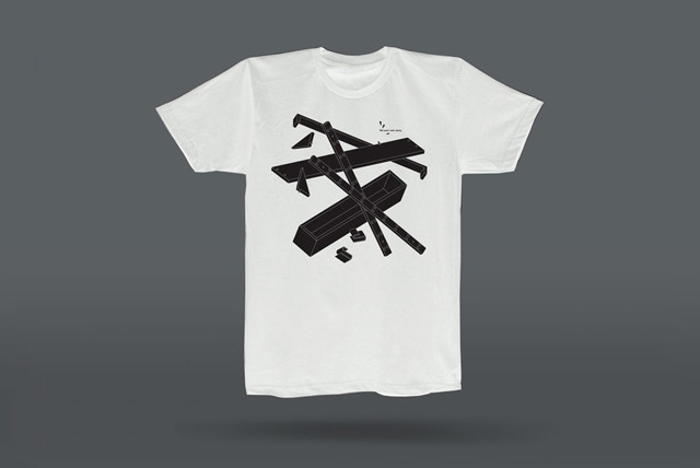 T-Shirt (white) designed by Daniel Julien