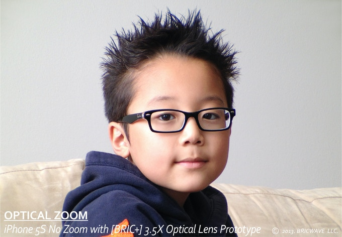 * [BRIC+] 3.5X Optical Lens delivers significant quality of pictures while retaining the original iPhone's pixel quality.