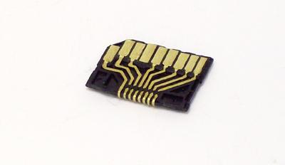 Bottom of Alpha prototype adapter