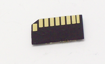 Bottom of the adapter