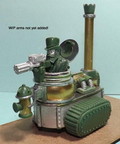 Steampunk Tracked Tank Type 1