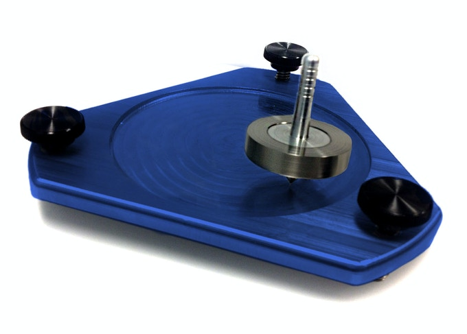 Spin Plate, available in all anodized color options! View update #2 for details!