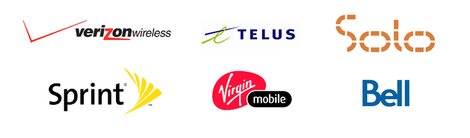 Mobile operators that would be supported by the CDMA version of Pine.