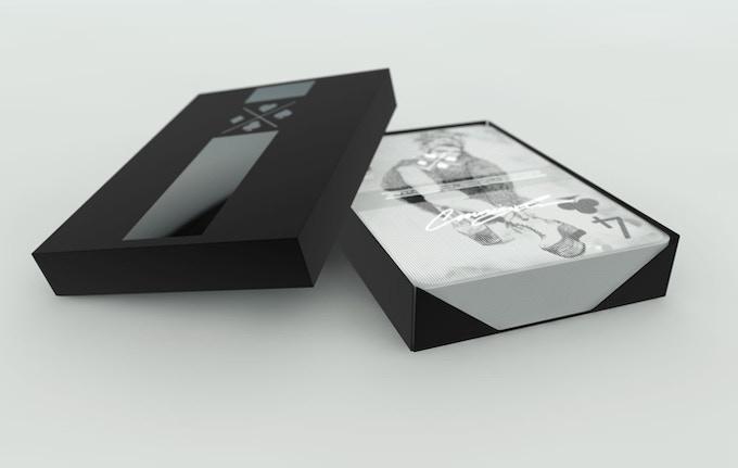 Card box simulation.