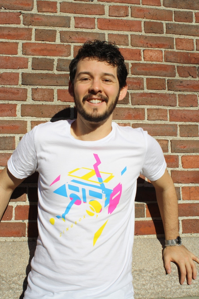 T-shirt design by Alex Broerman