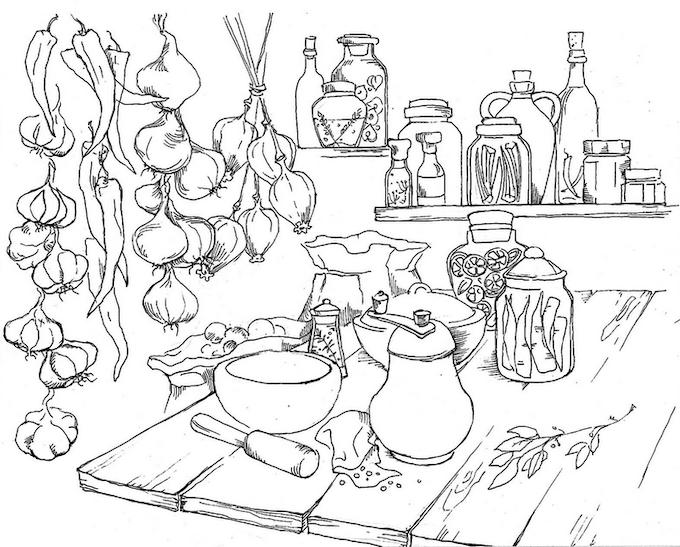 The Kurochka Cookbook: A Book of Russian & Ukrainian