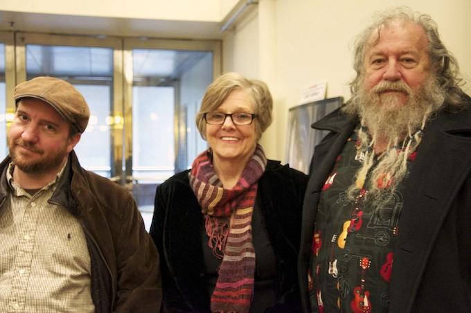 Stephin Merritt, Alix Merritt (Stephin's mother), and Scott Fagan