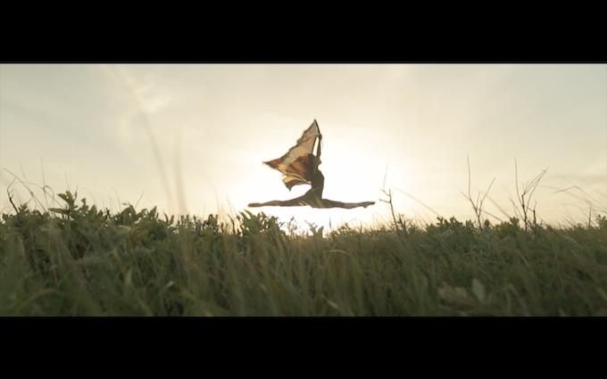 """A still from """"First Flight."""""""