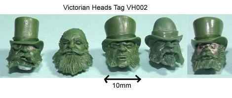 Victorian Heads TAG VH2 Add-On Price £4