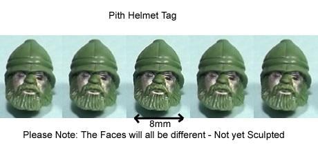 Pith Helmet Tag Add On Price £4.00
