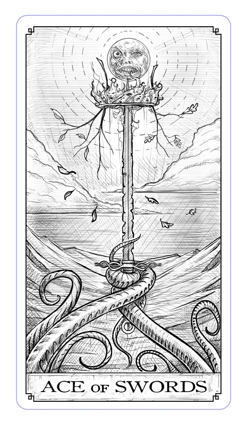 Ace of Swords - Sword of Souls