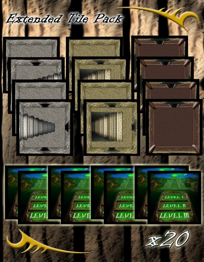 Extended Tomb Tile Pack (x20 Additional Tiles)
