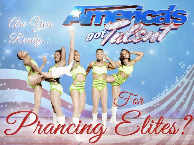 On November 3, 2013, we auditioned for the 9th season of America's Got Talent.  We left the judges literally speechless.  In January 2014 we will find out if we continue to the next audition.
