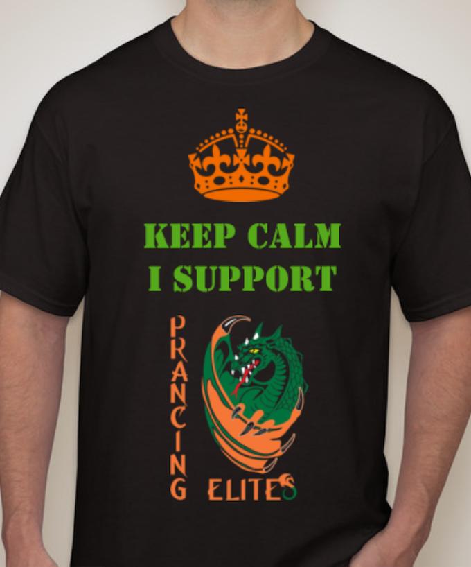 """""""KEEP CALM"""" graphic t-shirt"""