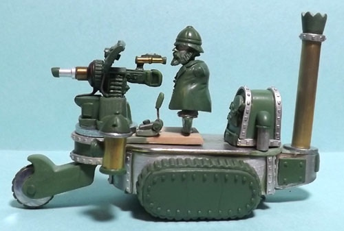 Steampunk Tracked Vehicle Type 2