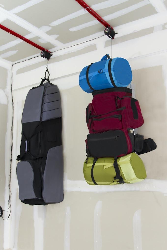 Bag storage.
