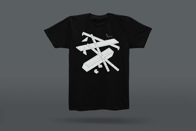 T-Shirt (black) designed by Daniel Julien