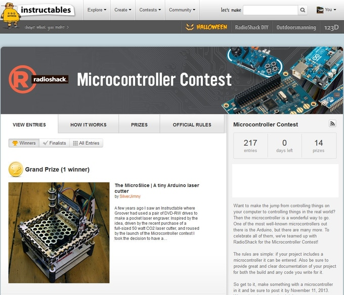 The Microslice A Mini Arduino Laser Cutter Engraver By Gregory