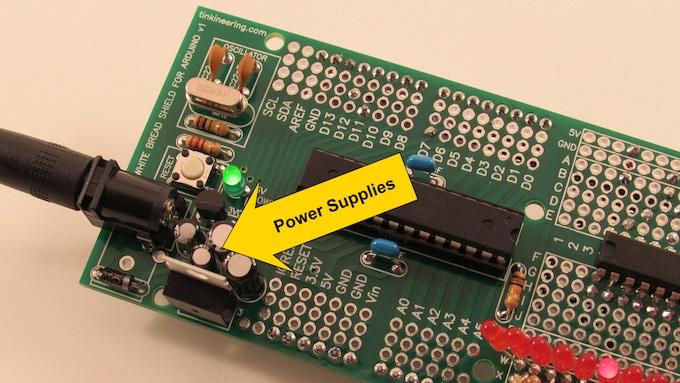 5 Volt and 3.3 Volt Power Supplies