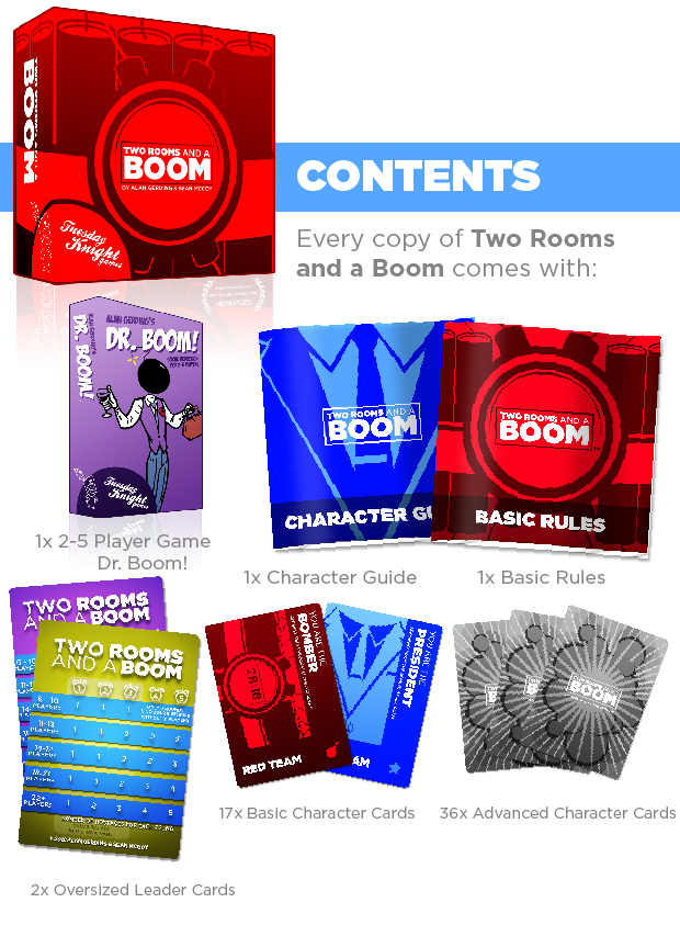 TWO ROOMS and a BOOM! by Alan Gerding — Kickstarter