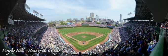 Mlb Stadium Panoramas And Triptych Wall Displays By Seth