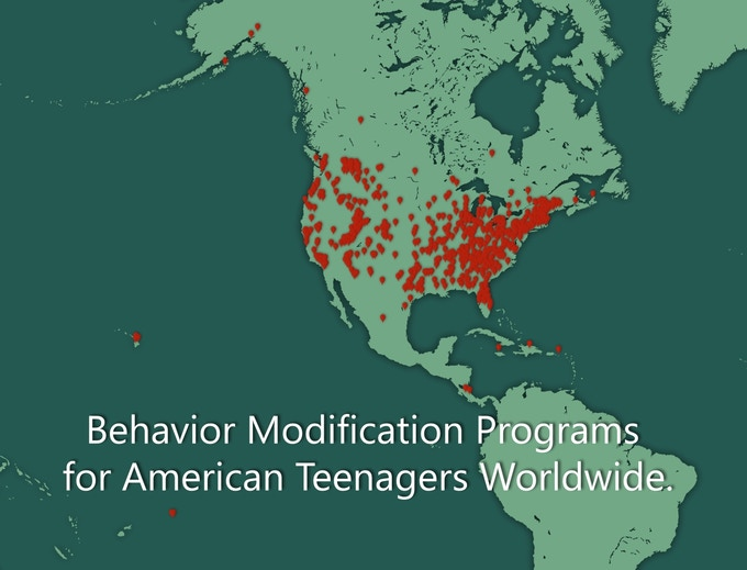"""There are thousands of unregulated """"troubled teen"""" programs where parents can send their children for any reason they wish."""