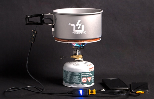 Introducing the PowerPot X 10 Watt Thermoelectric Generator