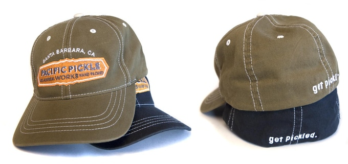 FlexFit embroidered logo hats