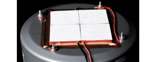 4 thermoelectric modules ensure a very reliable 10 watts of power!