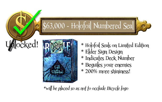 63k - Holofoil Seals - Limited Edition - Unlocked