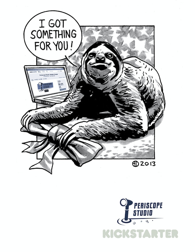 Give the gift of Gift Sloth.