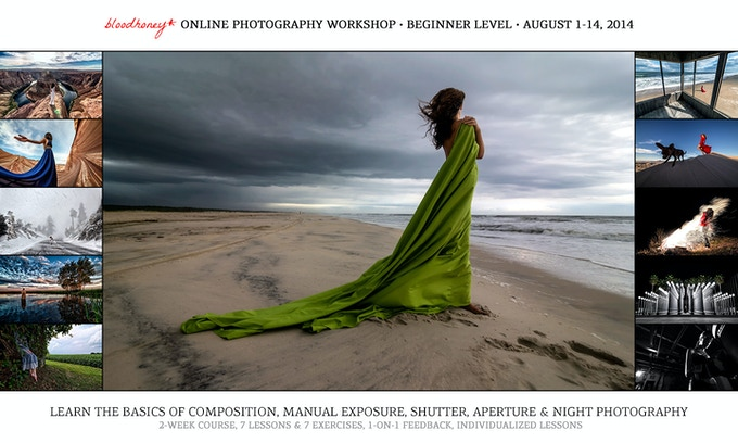 Online Photography Workshop - Available at a discount at reward level $400 or above!