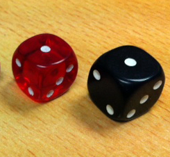 All Cat Dice are 16mm.