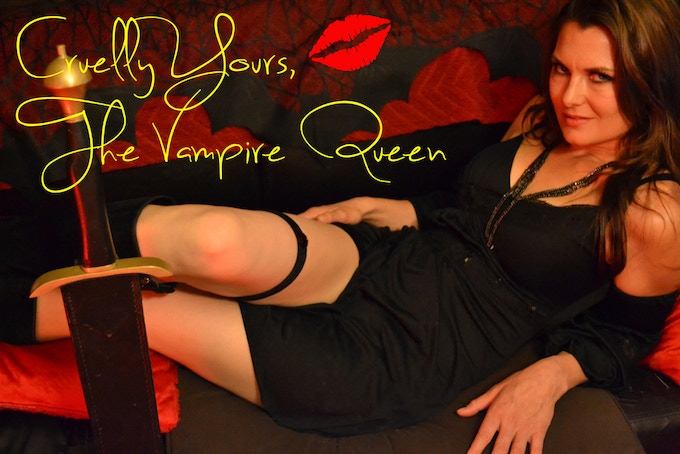I have cast the lovely and beautiful actress / model Katarina Waters to  play the Vampire Queen in the 8 by 10 photo reward! Katarina is a  German-born ...