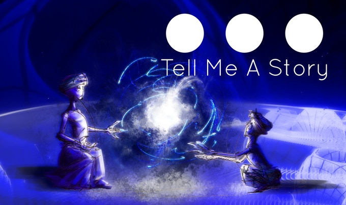 """Ultimately """"Tell Me A Story..."""" is about our interactions with others and how they shape us."""