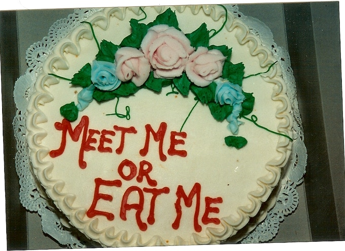 """This really should say, """"Back me or Eat Me."""""""