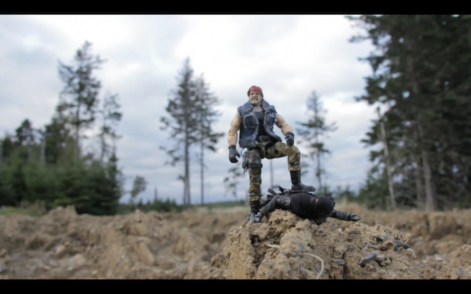Epic Buck North Action Figure!