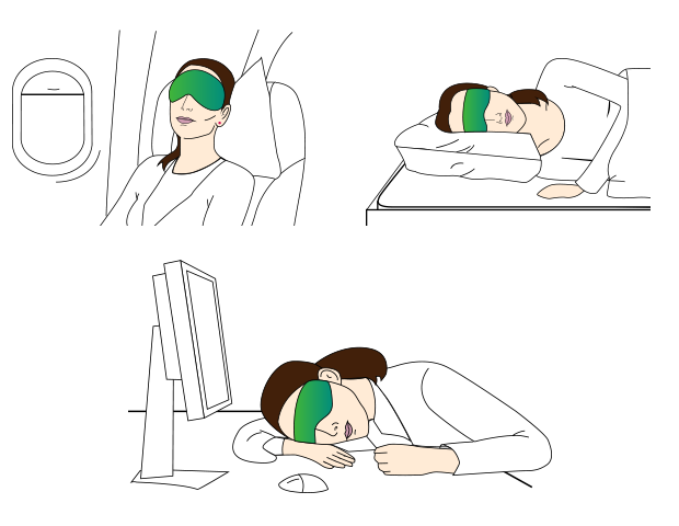 With NeuroOn you could sleep/ nap wherever you want.
