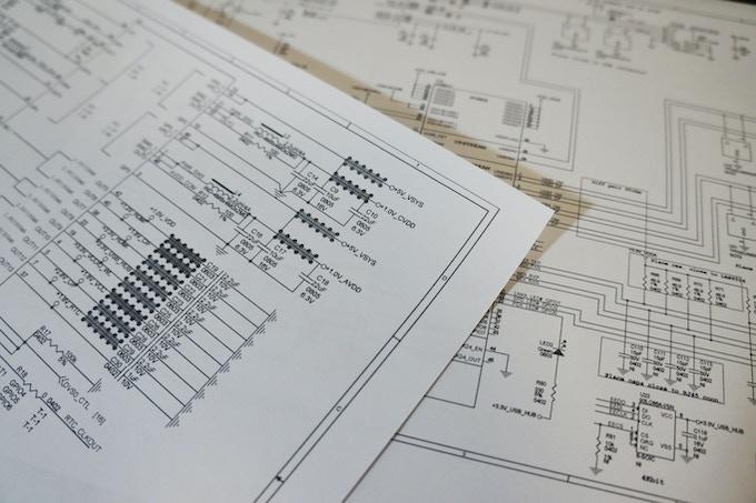 Developed schematic